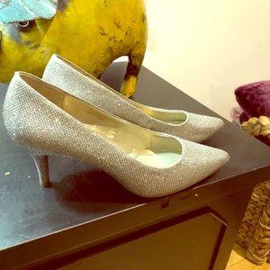 Silver / Gold heels